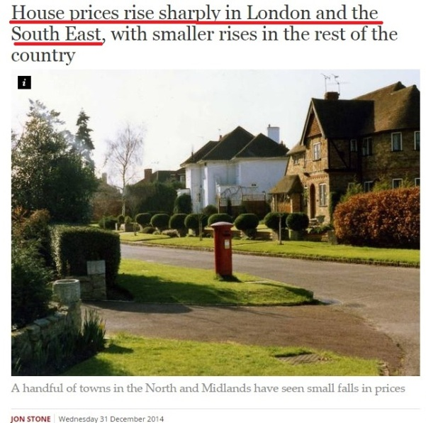 South East London Property Price