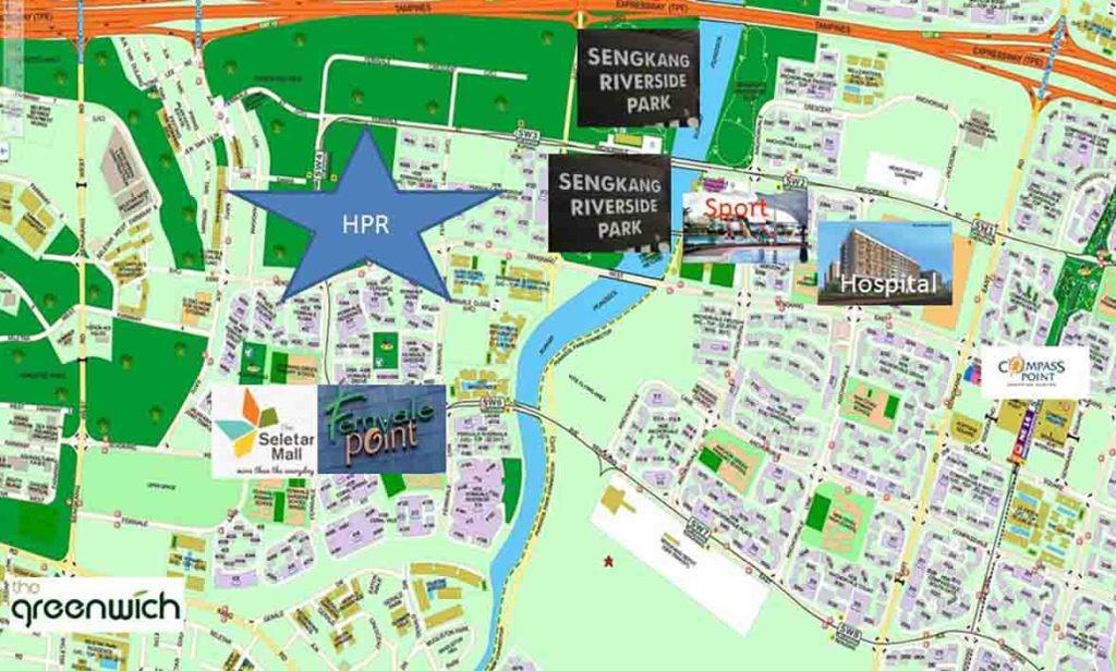 High Park Residences Map