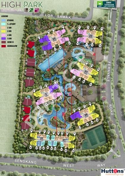 High park residences site plan