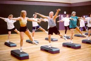 Aerobics lesson