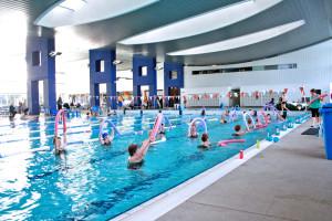 Aqua gym lesson