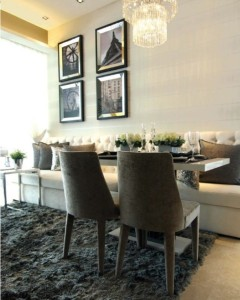 8M Residences dining room
