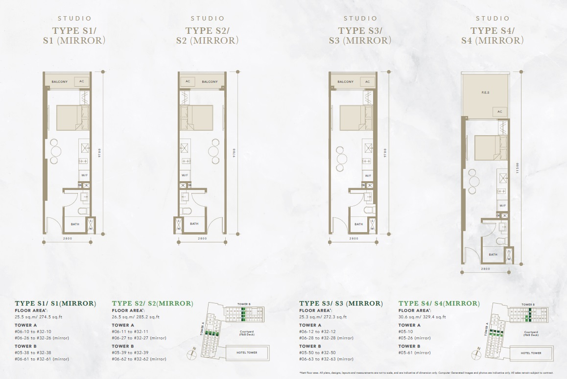 Oxley Convention City Floor Plan