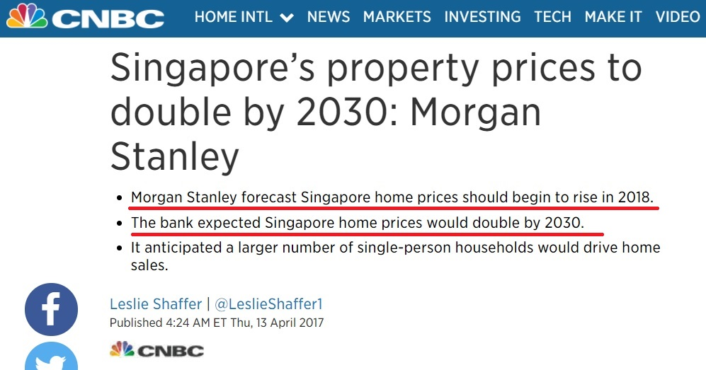 Morgan Stanley higher residential price