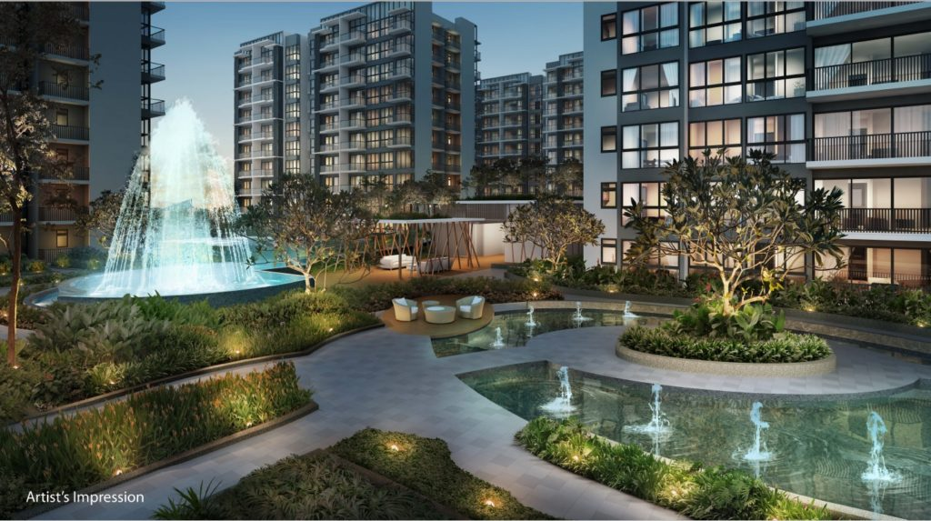 North Park Residences Water Feature