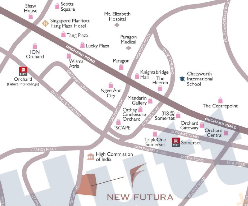 new futura location