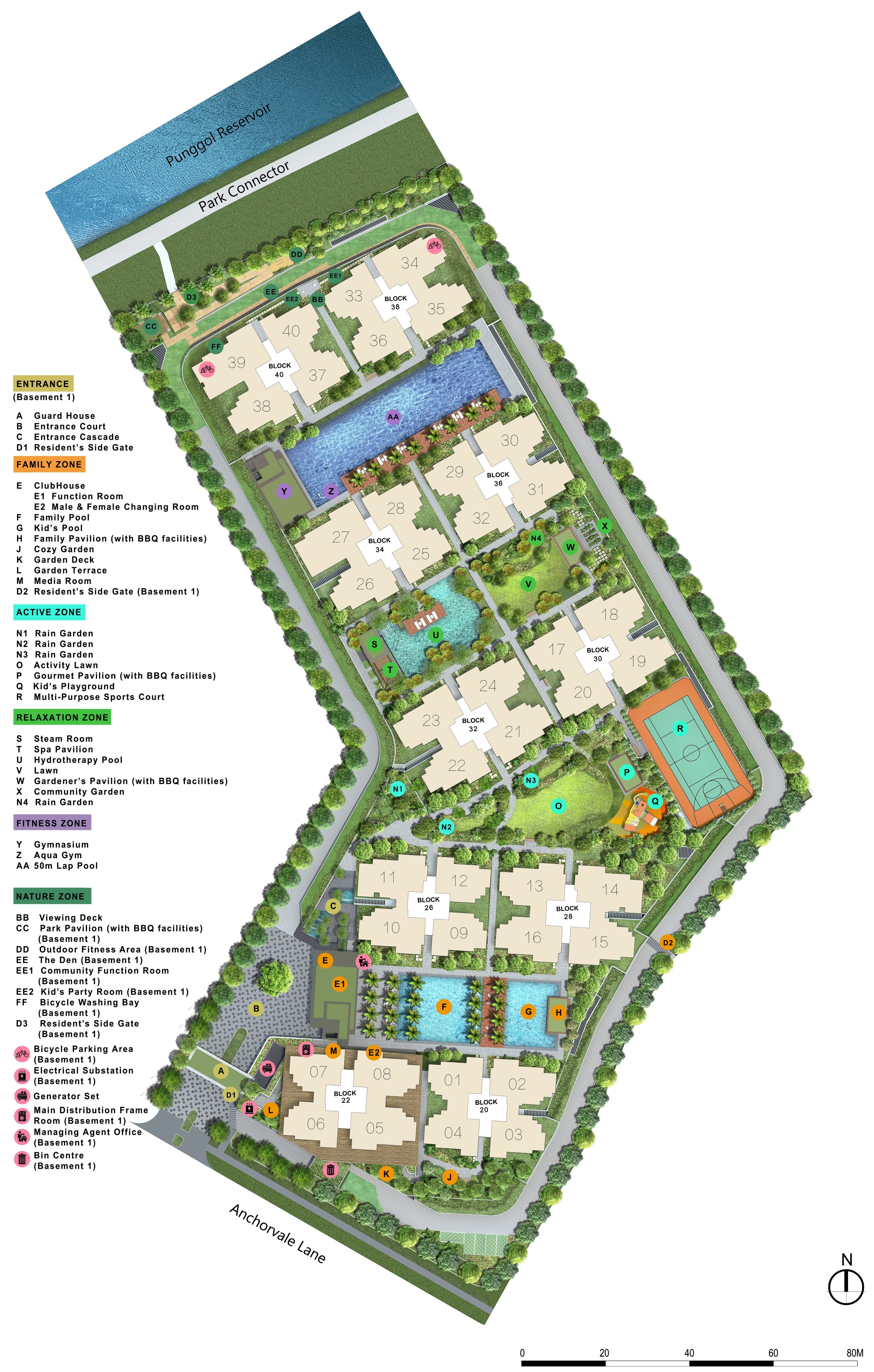 Rivercove Residences Facilities