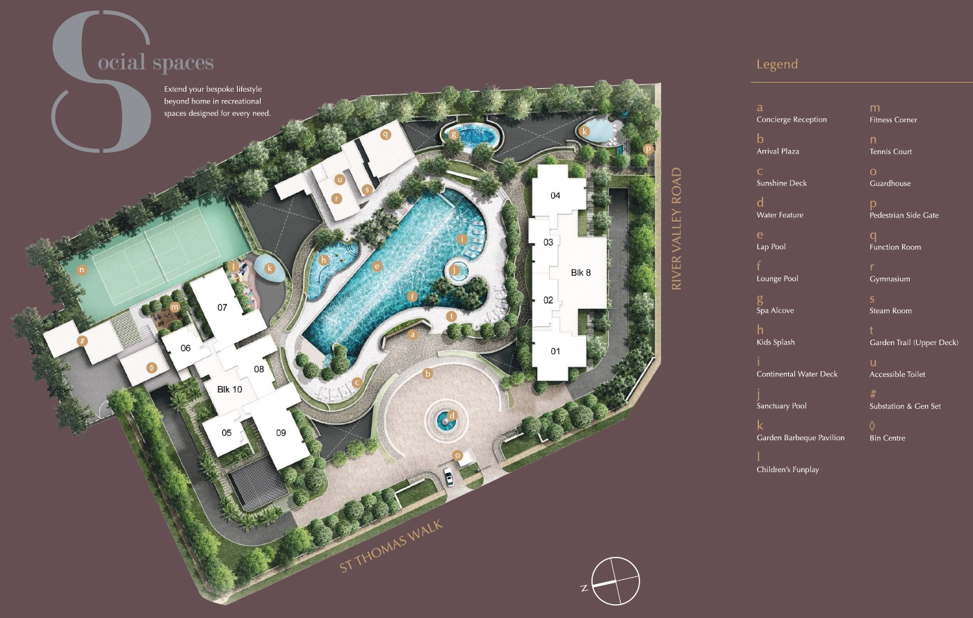 8 st thomas site plan