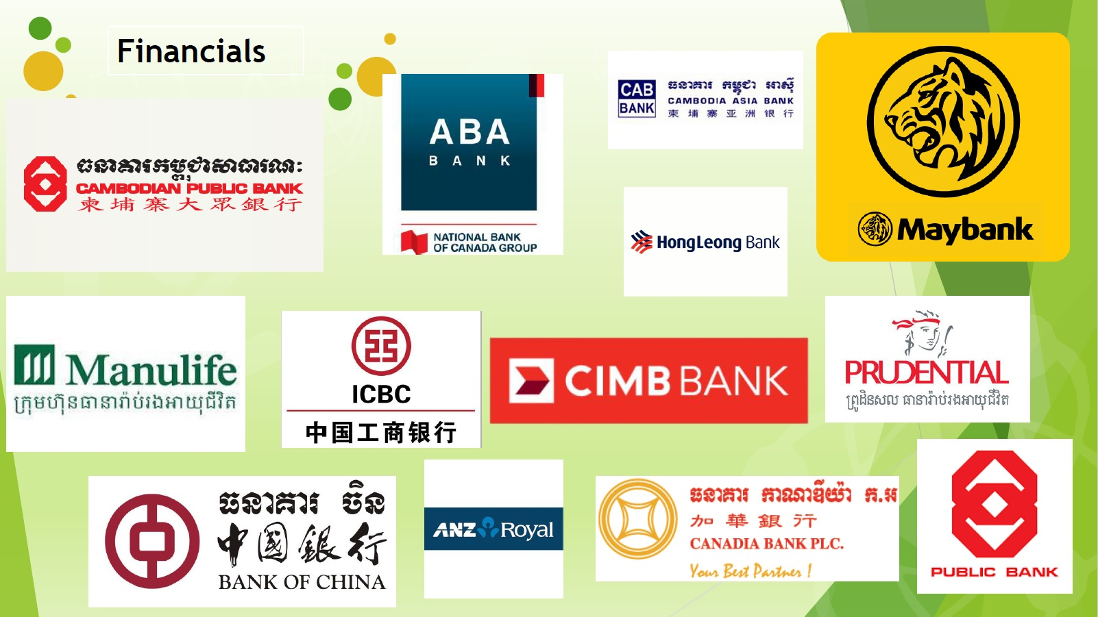 Financial Companies in Cambodia