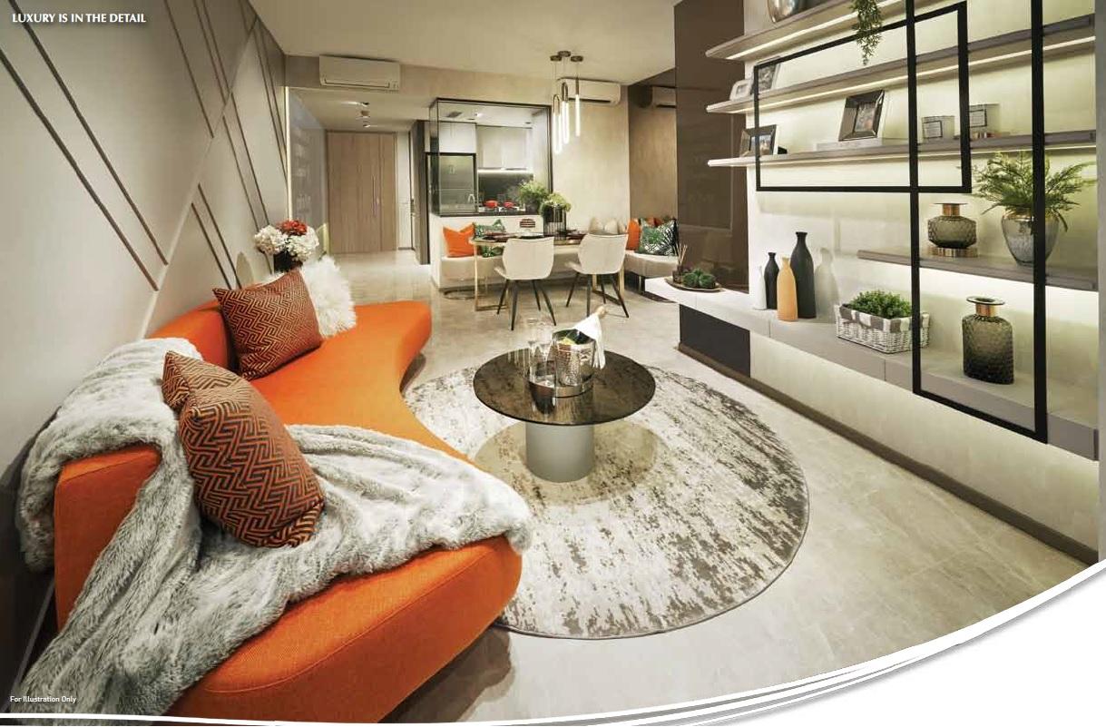 Sengkang Grand Residences Living Space